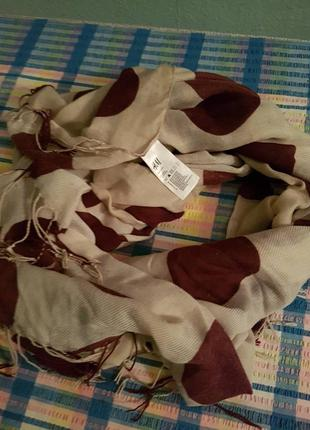 Отличный шарф-шаль