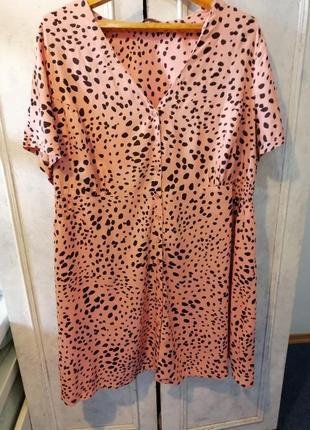Актуальное платье халат большого размера