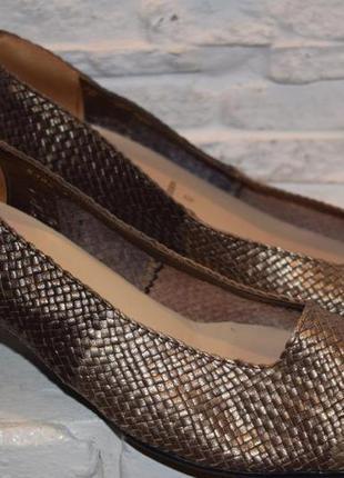 Туфли ара ara германия р.7 стелька 27-27,2 см кожа полнота g как новые