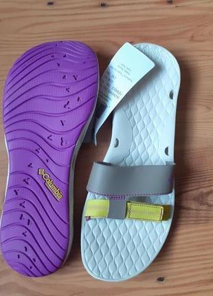 Columbia шлепанцы, мюли, сандалии, большой размер обуви, 41, 42, 28 см.