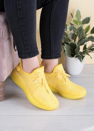 Женские желтые кроссовки,кеды, мокасины, кросівки,кеди