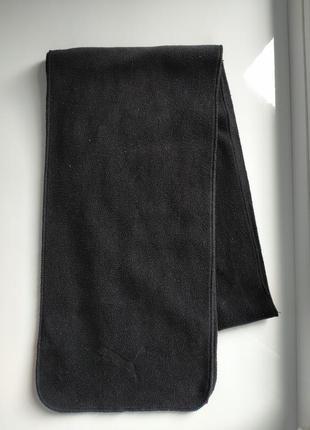 Чёрный шарф от puma
