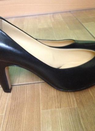Туфли clarks р-р. 40-41 кожа