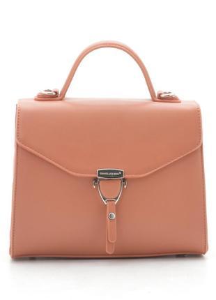 David jones клатч сумка 5706 оранжевый коралл