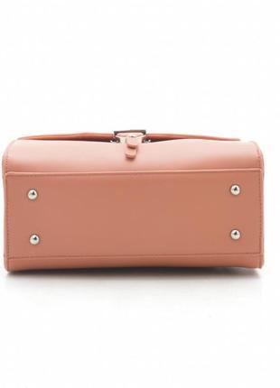 David jones клатч сумка 5706 оранжевый коралл4 фото