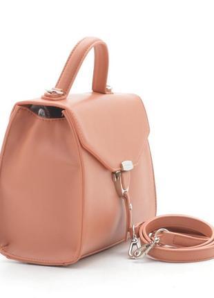 David jones клатч сумка 5706 оранжевый коралл2 фото