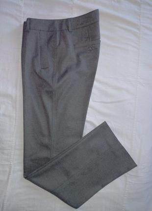 Женские серые классические брюки на кант от esprit