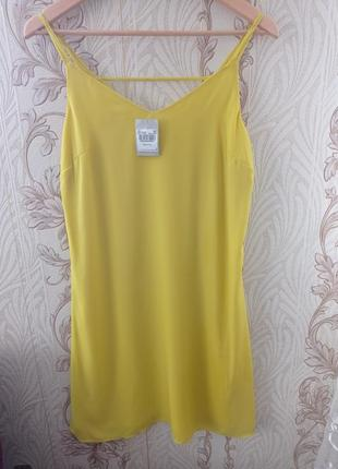 Новое яркое солнечное легкое шифоновое платье сарафан