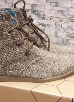 Очень стильные туфли кроссовки ботинки  текстиль тряпичные
