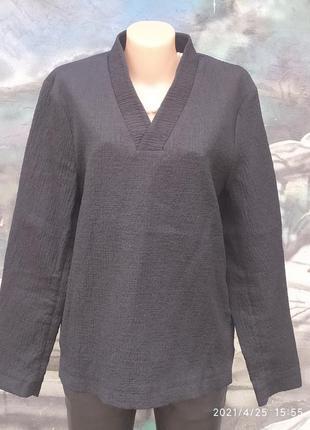 Жатая блуза кимоно бренд