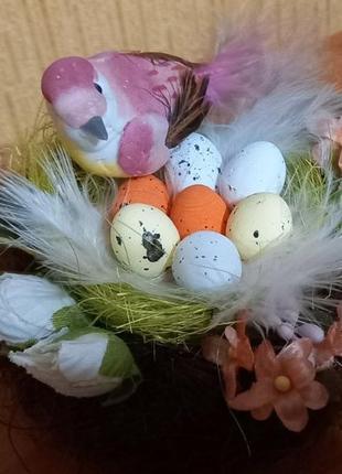 Гнездо пасхальное сувенир