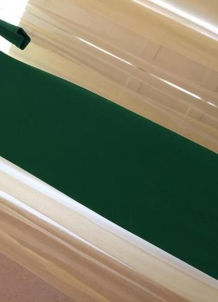 Зеленое платье длинное