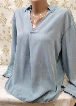 Джинсовая рубашка by f&f
