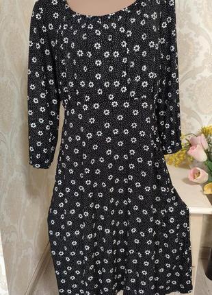 Стильное нежное платье из вискозы