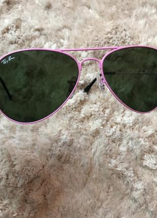 Шикарные солнцезащитные очки от ray ban