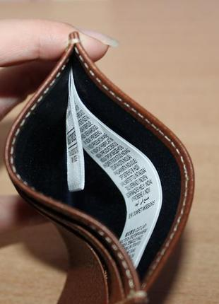 Визитница, картхолдер, кошелёк для  карточек marks & spencer кожа3