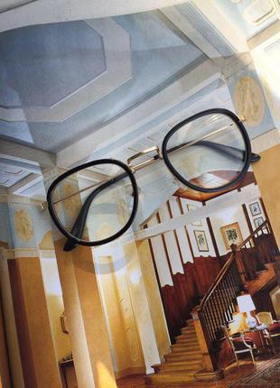 Новые имиджевые очки с прозрачными стеклами asos