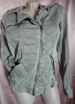 Куртка косуха из котона clockhouse размер l