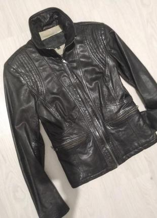 Куртка кожа. ветровка. laura di sarpi. 34-38р