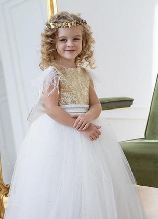 Нарядне святкове плаття для дівчинки на урочисту подію наталі