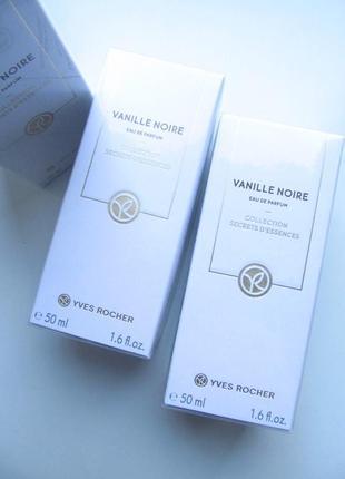 Парфюмированная вода черная ваниль - vanille noire 50мл ив роше