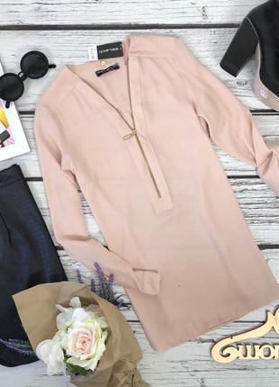Базовая блуза в нюдовых оттенках  bl3933  select