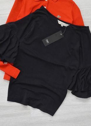 Новая крутая блузка-футболка большого размера от f&f 1+1=3