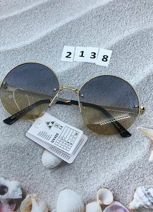 Солнцезащитные очки- линза с переходом двух цветов
