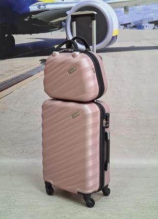 Дорожный чемодан madisson  с бьюиком rosa gald