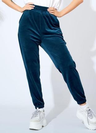 Стильные женские брюки велюр. стильні жіночі штани велюр