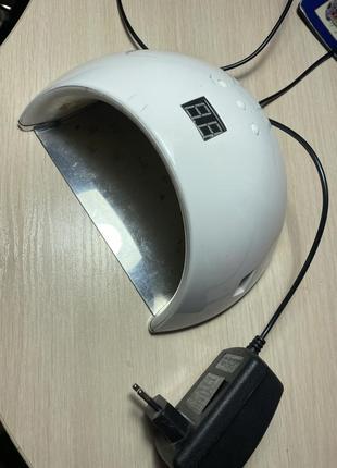 Лампа маникюрная для гель-лака
