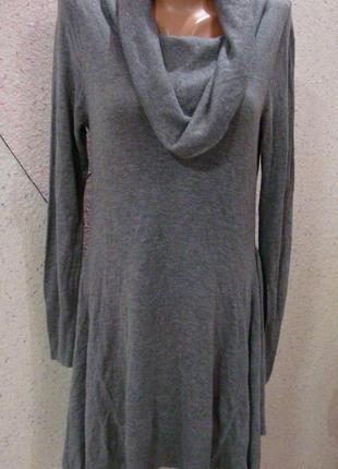Красивое, теплое платье с воланами по бедрам. размер 10-14