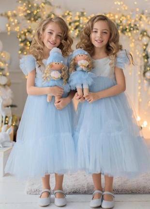Детское нарядное платье для девочки на праздник мия 2