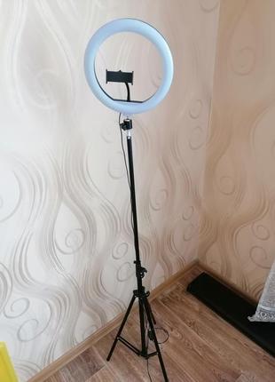 Led лампа, кольцевая лампа, лампа для фото д 26