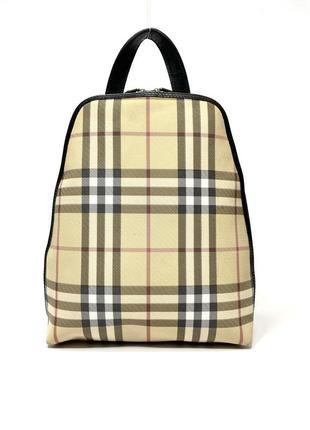 Винтажный рюкзак burberry. оригинал.