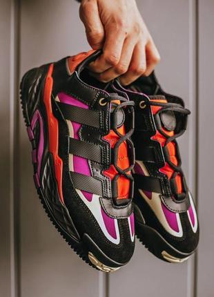 Кроссовки кросівки 39,40, 41,42,43,44,45  кожаные niteball black power berry