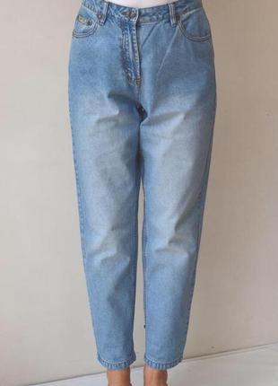 Джинсы бойфренды,рванки, mom jeans, высокая посадка.