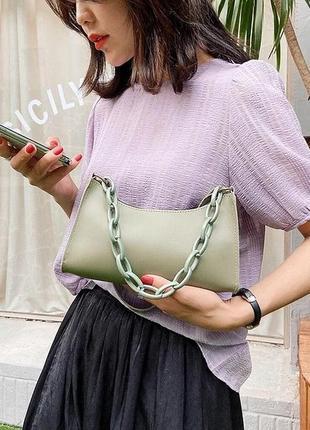 Стильна сумочка 2021 трендова сумка хит9 фото