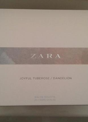 Zara dandelion 100 ml + zara joyful tuberose 100 ml