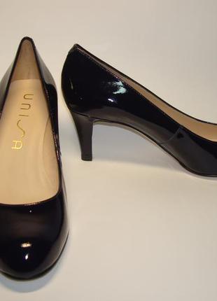 Туфлі unisa latri pa navy patent