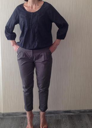 Зауженные хлопковые брюки и брендовые вещи дешево!
