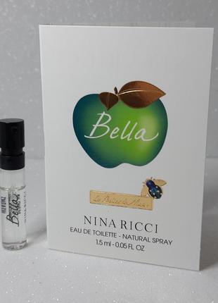 Nina ricci bella туалетная вода (пробник)