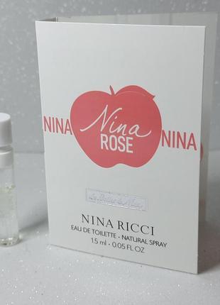 Nina ricci les belles de nina nina rose
