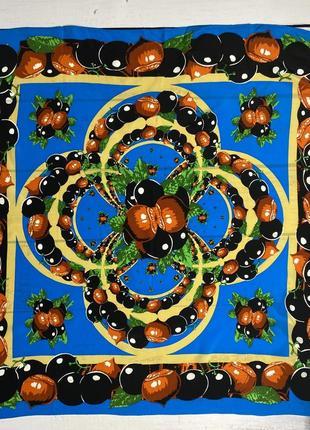 Galaxy шелковый платок красочный
