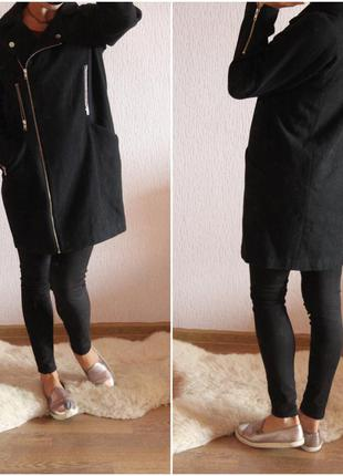 Крутое пальто бойфренд asos размер 10