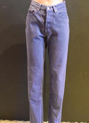 Джинсы с высокой посадкой, плотный джинс levistrauss