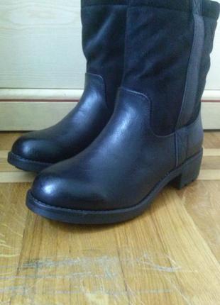 Сапоги деми new look 37 размер ботинки