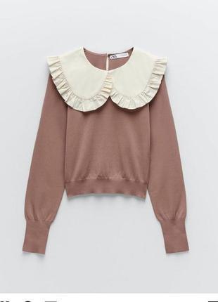 Милый свитер zara