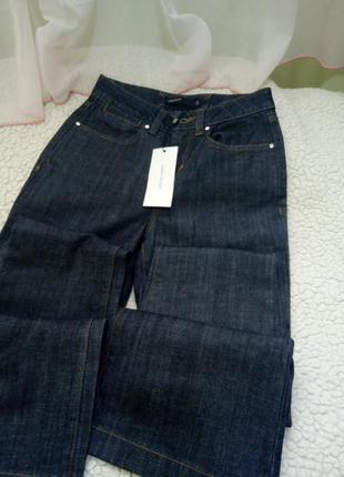 Брендовые котоновые штаны (оригинал)высокая посадка