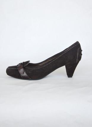 Кожа замша туфли размер 40